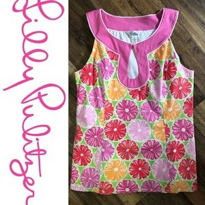 """Lilly Pulitzer """"juice stand"""" Little girls Dress"""